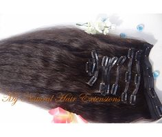 Image of Coarse Yaki Clip In Extensions