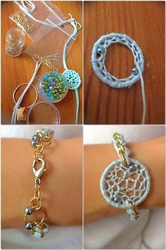 dreamcatcher bracelet | Inspiration: dreamcatcher bracelet | Mrs. Gypsy