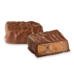 Toffee brittle coated in chocolate - California Brittle - See's Candies