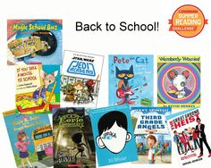 Let's finish the Summer Reading Challenge with a round up of books for back-to-school! Just1 week left to log reading minutes and help your school be #1!