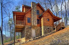 Pigeon Forge cabins, Gatlinburg cabin rentals and Tennessee cabins near the Smoky Mountains. Book your next cabin vacation with us. Best cabins in the Smokies! Wears Valley Cabin Rentals, Smoky Mountains Cabins, Mountain Cabins, Ideas De Cabina, How To Build A Log Cabin, Pigeon Forge Cabin Rentals, Log Cabin Homes, Log Cabins, Tiny Cabins
