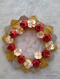 Guirlanda Origami | Bela Flor | ArteJá