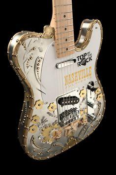 Top of the Rock Guitar Hard Rock Cafe Nashville #hardrock