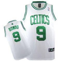 camisetas boston celtics blanca con rondo 9  http   www.camisetascopadomundo2014.com · NHL JerseysWhite ... e74091d4a9a2