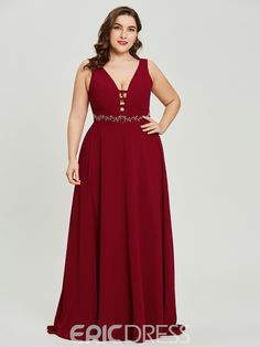 Ericdress V Neck A Line Long Evening Dress With Beadings Fashion girls, party dresses long dress for short Women, casual summer outfit ideas, party dresses Fashion Trends, Latest Fashion # Evening Wedding Guest Dresses, Best Evening Dresses, Green Evening Dress, Evening Gowns, Bridesmaid Dresses Plus Size, Plus Size Dresses, Cute Dresses, Prom Dresses, Formal Dresses
