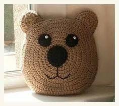 Resultado de imagen para almohada en crochet
