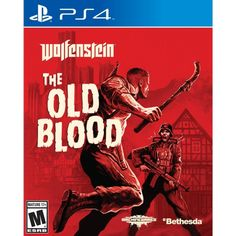 Wolfenstein: The Old Blood, PlayStation 4, Shooting