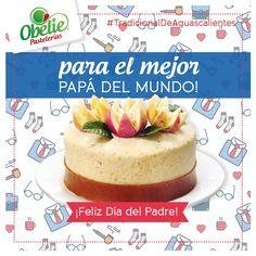 ¡Felicidades, papá, te mereces lo mejor siempre! :D No olvides el pastel para papá! Recuerda que solo este domingo cerraremos a las 7 p.m. ;)
