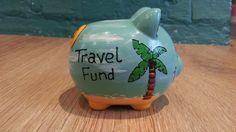 Hucha fondo de viajes por ArtyGifts en Etsy