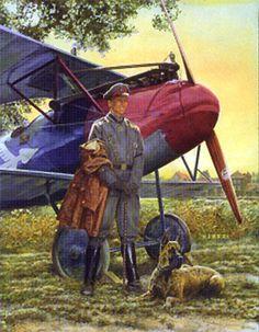 Aviation art.