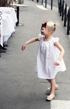 Robe Blanche Le Carrousel