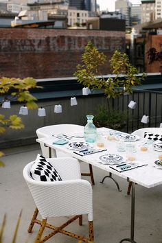 Valentine's Day Date Ideas: Rooftop Dinner