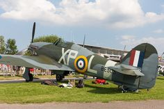 Hangar 11′s Hawker Hurricane. Germany's Hahnweide Oldtimer Air Show 2013.  (Image Credit: Andreas Zeitler)