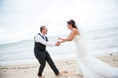 Capturing the feeling - Khun Aez #beachweddings #weddingsinthailand #farawayweddings #weddingphotography