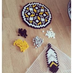Dreamcatcher hama beads by sabineleli