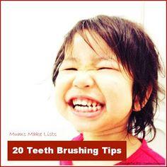 Tips to get toddlers to brush their teeth #kidsplacedental