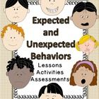 These four complete lessons help students identify and respond positively to expected and unexpected behaviors. Each lesson takes 10 minutes or le...