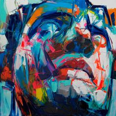 Palette knife painting portrait Palette knife Face Oil painting Impasto figure on canvas Hand painted Francoise Nielly Cheap Paintings, Oil Paintings, Palette Knife Painting, Decoration, Les Oeuvres, Pop Art, Art Drawings, Hand Painted, Canvas