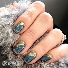 Woah! If you layer Boomerang and Prince Charming, crazy things start happening! :) SO cute! Find these wraps here! http://sarilynjams.jamberrynails.net/product/boomerang#.VY8W-O1Viko