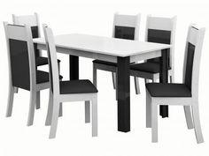 Conjunto de Mesa com 6 Cadeiras Estofadas Madesa - Verona com as melhores condições você encontra no Magazine Lojasdacrica. Confira!