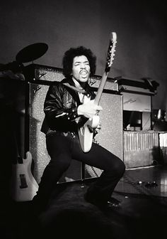 Jimi Hendrix By Baron Wolman With His Movement Supported Sound In A Way That Was Unexpected And Of Course Wonderful For Photographer Because He