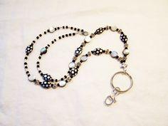 Lanyard, Beaded lanyard, Lanyard key holder, Lanyard key ring, Lanyard ID badge…
