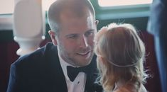"""""""Groom Makes Wedding Vows To 3-Year-Old Stepdaughter In Emotional Video"""" -- Click through for the touching vows NASCAR driver Brian Scott made to his bride's daughter. Nice priorities, sir!"""