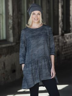 Suvio tunic Fall Winter, Autumn, Tunic Tops, Collection, Women, Fashion, Moda, Fall Season, Fashion Styles