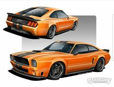 Mustang Cars, Ford Mustang, Rc Cars And Trucks, Chevy Trucks, Pony Car, Futuristic Cars, Automotive Art, Concept Cars, Concept Auto