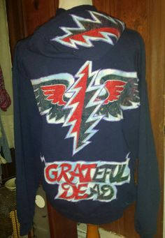 8ca1b146675 Ready to ship GRATEFUL DEAD one of a kind by jodisunflower on Etsy Grateful  Dead Patches