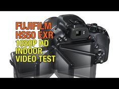 Fuji Finepix HS50 EXR 1080P HD Indoor Video Test