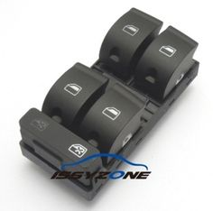 Driver Side Electric Panel Master Window Control Switch For Audi A4