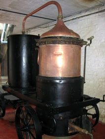 1898 Caperdonich Stills To Come Alive in 2013 at Belgian Owl Distillery. Stills salvaged from bull-dozed distillery  which closed in 2002 will have life again distilling single malt whisky in Belfium.