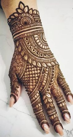 Mehndi Designs Front Hand, Latest Bridal Mehndi Designs, Stylish Mehndi Designs, Full Hand Mehndi Designs, Mehndi Designs For Girls, Mehndi Designs For Beginners, Mehndi Design Photos, Beautiful Mehndi Design, Latest Mehndi Designs