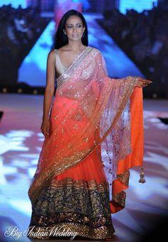 Manish Malhotra designer lehenga : Fashion with a cause
