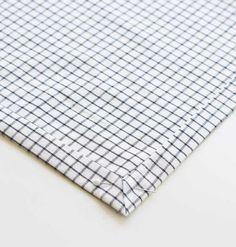 How to: mitred edge napkins