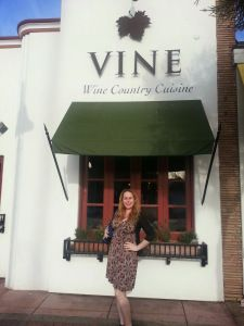Go to Vine Wine Country Cuisine in San Clemente to try some amazing food and drink! Check out the details in my article here! :)