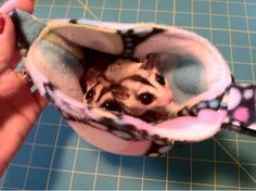 DIY - Sugar Glider Pouch Tutorial  Made this for my gliders, Easy, Fast, Fun!