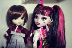 with Draculaura