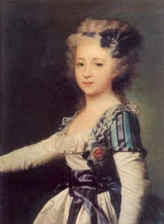 History of fashion in art & photo (1791 Dmitry Levitzky - Portrait of Grand Duchess...)