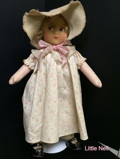 Madame Alexander Little Nell.  Tagged. Pinned from Pin It for iPhone