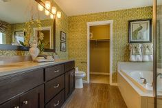 Large bathroom at The Shores - New homes available in Firestone, CO   Henry Walker