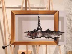 "Saatchi Art Artist Eka Peradze; Painting, ""city of love. Look video. Paris"" #art"