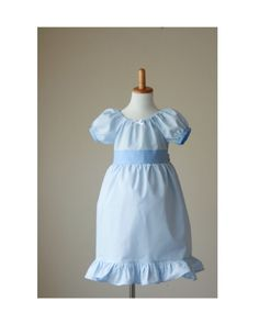 773f947a25 Wendy Costume - Wendy Darling - Wendy Nightgown- Wendy Dress - Wendy Darling  Dress - Peter Pan - Wendy Darling Costume - Wendy Gown