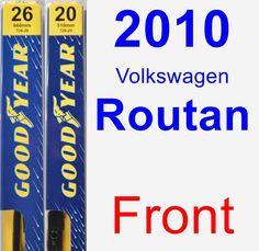Front Wiper Blade Pack for 1989 Toyota Van - Premium 2011 Acura Mdx, Volkswagen Routan, Chrysler Pacifica, Volvo, Nissan, Cool Things To Buy, Blade, Cabriolet, Minivan