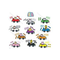 Colors critters n' cars deco CD610022