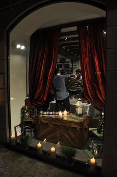 Happy Hour with candlelight in Corso Sant'Anastasia Verona