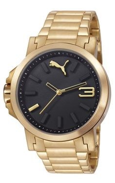 6bd480151cb Reloj Puma Motosport Ultrasize Lds Metal Gold Black