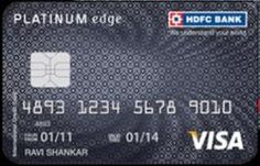 credit card limit of hdfc bank
