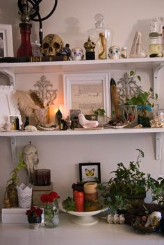 "Shelf space only? This is beautiful and if you didn't want anyone to know it was your ""alter"" no one would:)"